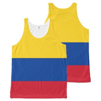 Colombia Flag Tank top