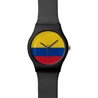 Colombia Flag Wrist Watch