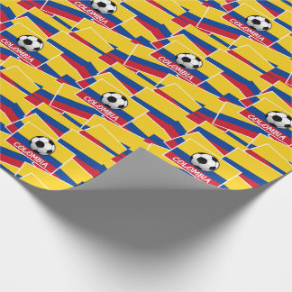 Colombia Football Wrapping Paper