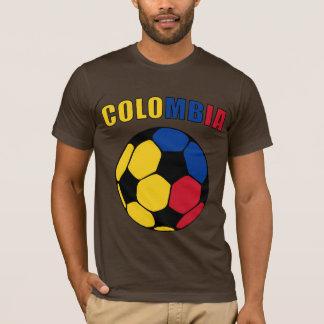 Colombia Footy (Dark) T-Shirt