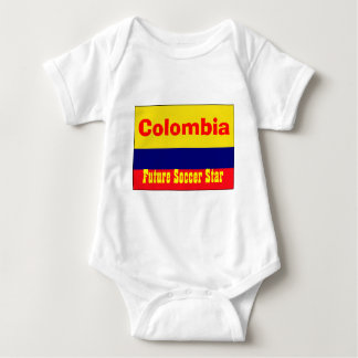Colombia future soccer star baby bodysuit