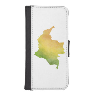 Colombia iPhone SE/5/5s Wallet Case