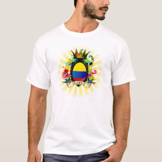 Colombia Latin Oz Music T-Shirt