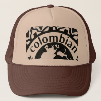 COLOMBIA LOGO TRUCKER HAT
