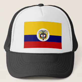 Colombia Naval Ensign Flag Trucker Hat