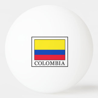 Colombia Ping Pong Ball