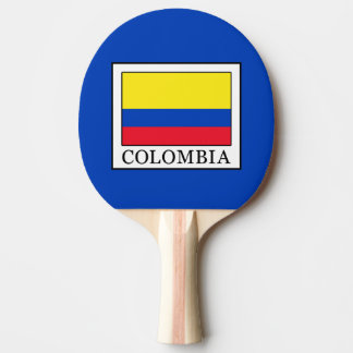 Colombia Ping Pong Paddle