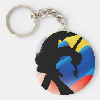 Colombia Salsa Keychain