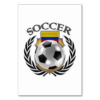Colombia Soccer 2016 Fan Gear Card