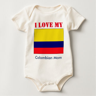 Colombian baby baby bodysuit