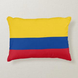 Colombian Flag Bandera de Colombia Tricolor Pillow