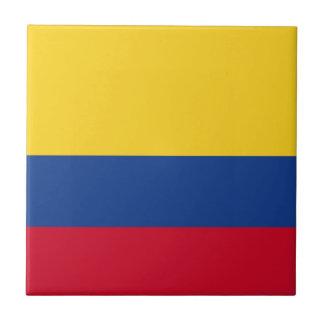 Colombian flag ceramic tiles