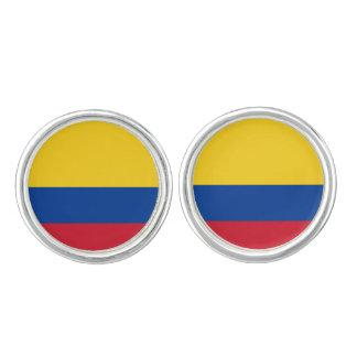 Colombian flag Cufflinks