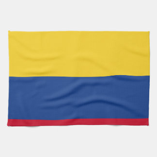 Colombian flag hand towels