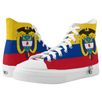 Colombian Flag High Tops