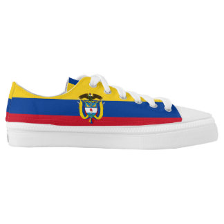 Colombian Flag Low-Top Sneakers