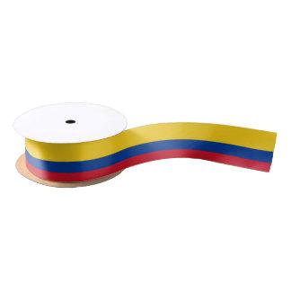Colombian flag ribbon satin ribbon
