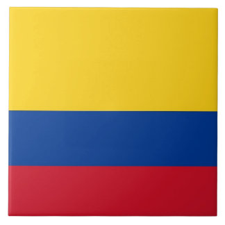 Colombian Flag Tile