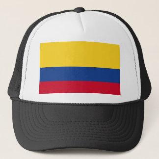 Colombian flag trucker hat
