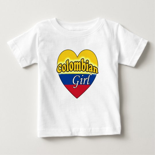 Colombian Girl Baby T-Shirt
