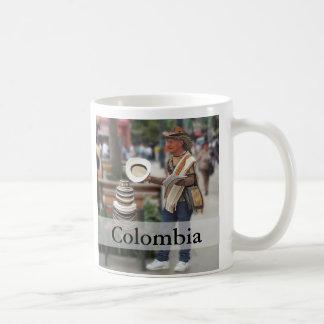 Colombian Hat Vendor Customizable Text Coffee Mug