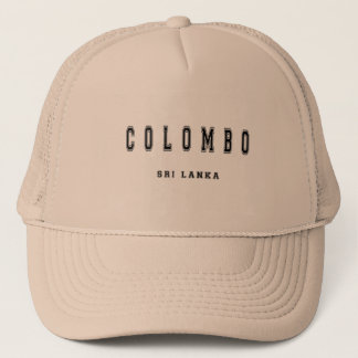 Colombo Sri Lanka Trucker Hat