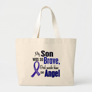 Colon Cancer ANGEL 1 Son Bags