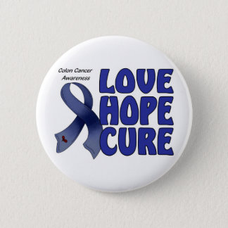 Colon Cancer Awareness 2 Inch Round Button
