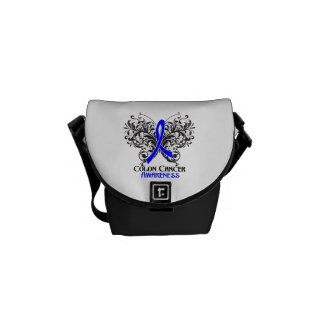 Colon Cancer Awareness Butterfly Courier Bag
