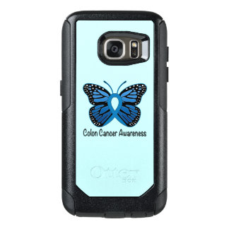 Colon Cancer Awareness: Butterfly OtterBox Samsung Galaxy S7 Case