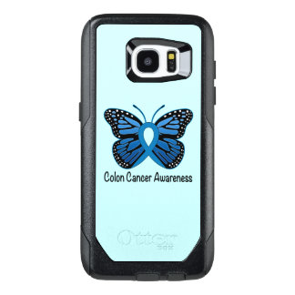 Colon Cancer Awareness: Butterfly OtterBox Samsung Galaxy S7 Edge Case