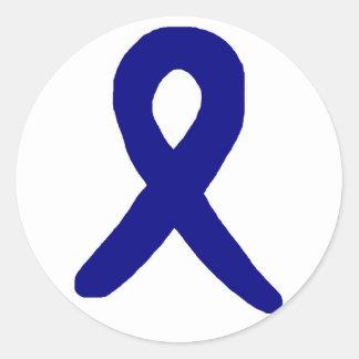 Colon cancer awareness sticker