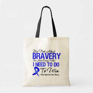 Colon Cancer Battle Tote Bags