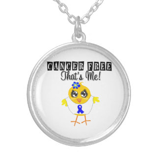 Colon Cancer - Cancer Free That's Me Custom Necklace