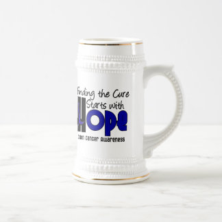 Colon Cancer HOPE 4 Beer Stein