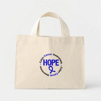 Colon Cancer Hope Mini Tote Bag