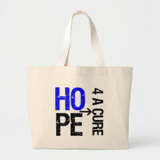Colon Cancer Hope For a Cure Tote Bags