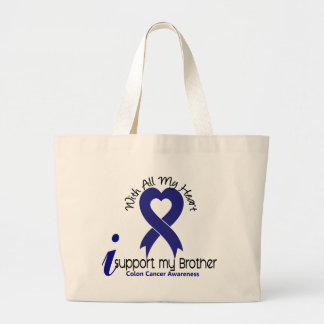 Colon Cancer I Support My Brother Bag