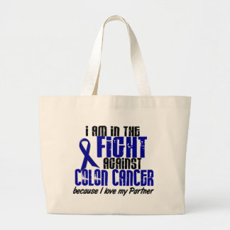 COLON CANCER In The Fight For My Partner 1 Canvas Bag