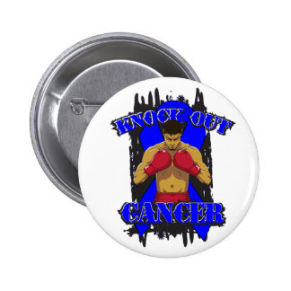 Colon Cancer Knock Out Cancer 2 Inch Round Button