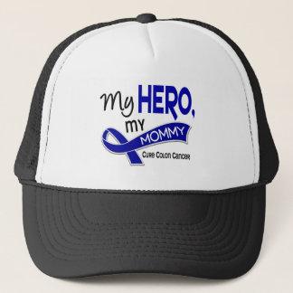 Colon Cancer MY HERO MY MOMMY 42 Trucker Hat