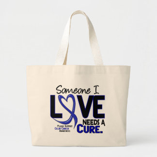 Colon Cancer NEEDS A CURE 2 Canvas Bag
