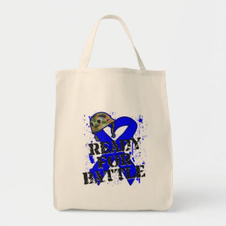 Colon Cancer Ready For Battle Tote Bag