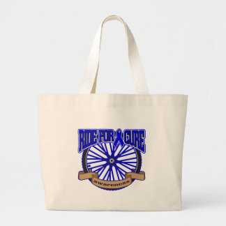 Colon Cancer Ride For Cure Canvas Bag