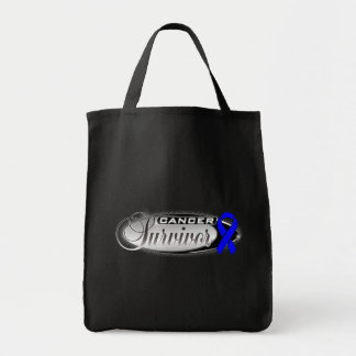 Colon Cancer Survivor Tote Bags