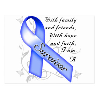 Colon Cancer Survivor Postcard
