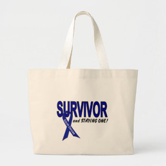 Colon Cancer Survivor STAYING One Canvas Bag
