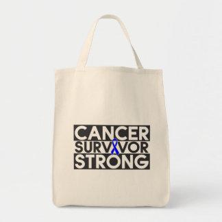 Colon Cancer Survivor Strong Bags