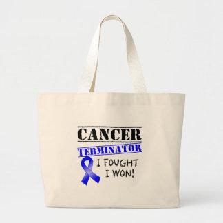 Colon Cancer Terminator Jumbo Tote Bag