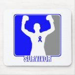 Colon Cancer Winning Survivor Mouse Pad